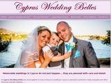 Cyprus Wedding Belles Website Screenshot