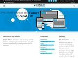 Delphi Art Website Screenshot