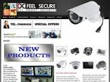 DC Feel Secure Website Screenshot