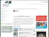 Dea Co Developers Website Screenshot