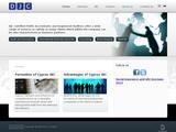 DJC Accountants Website Screenshot