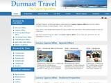Durmast Travel Website Screenshot
