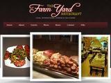 FarmYard Restaurant Website Screenshot