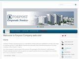 Forpost Corporate Services Website Screenshot