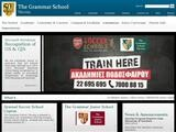 The Grammar School Nicosia Website Screenshot