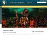 Grammar School Limassol Website Screenshot