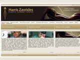 Harris Zavrides Plastic Surgery Center Website Screenshot