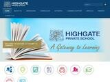 Highgate Private School Website Screenshot
