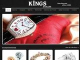 Kings Jewellers Website Screenshot