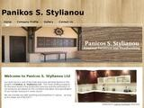 Panicos Stylianou Website Screenshot