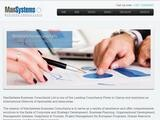 ManSystems Business Consultants Website Screenshot