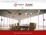 Narkissos Aircon Website Screenshot