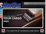 Nautilus Shipping Website Screenshot