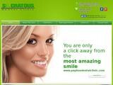Socratous Dental Clinic Website Screenshot