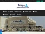 Pelagos Mediterranean Restaurant Website Screenshot
