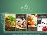 Phuket Thai & Chinese Restaurant Website Screenshot