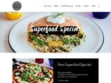 Pizza Express Website Screenshot