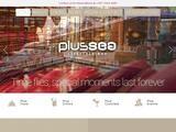 PlusSea Website Screenshot