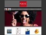 POETIS Creative Solutions Website Screenshot