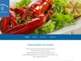 Psarolimano Fish Tavern Website Screenshot