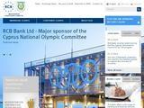 Russian Commercial Bank Website Screenshot