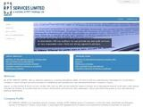 RPT Services Ltd Website Screenshot