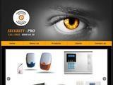 Security Pro Website Screenshot