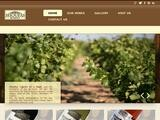 Shoufas Winery Website Screenshot