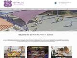 Silverline School Website Screenshot
