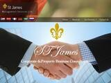 St James Management Services Ltd Website Screenshot