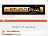 Studio Ena Photography Website Screenshot
