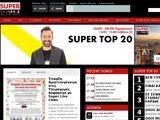 Super FM Website Screenshot
