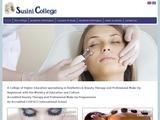 Susini College Website Screenshot