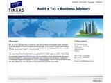 Timkas Accountants Website Screenshot