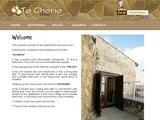 To Chorio Traditional Houses Website Screenshot