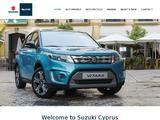 Suzuki Cyprus Website Screenshot