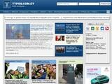 Typos News Website Screenshot