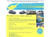Your Way Car Hire Website Screenshot