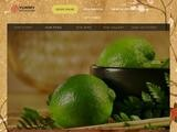 Yummy Mandarino Website Screenshot