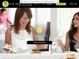 China Spice Restaurant Website Screenshot