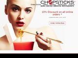 Chopsticks Website Screenshot