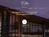 Elite Interiors Website Screenshot