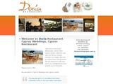 Doria Restaurant Website Screenshot