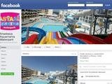 Anastasia Aquamania Waterpark Website Screenshot