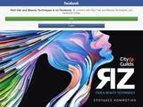 R&Z Hair Website Screenshot
