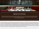 Four Seasons Restaurants Website Screenshot