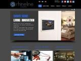 Rhine Line Ltd Website Screenshot