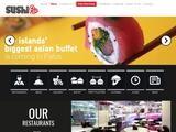 Sushi La Website Screenshot
