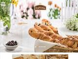 Zorbas Bakeries Website Screenshot