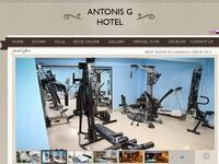Antonis G Hotel Apartments Larnaca Website Screenshot